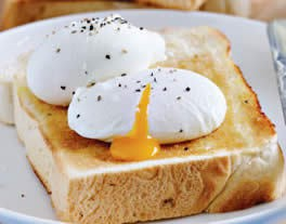 Saturday mornings mean eggy toast