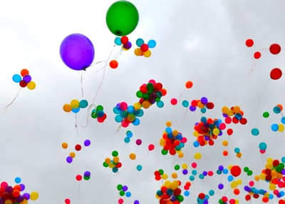 Autism Awareness Balloon Release Melbourne 2