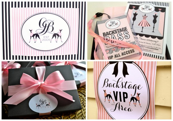 Poss' Party invites and printables