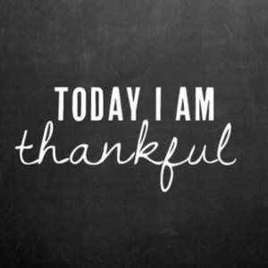 Thankful Thursday… the little things