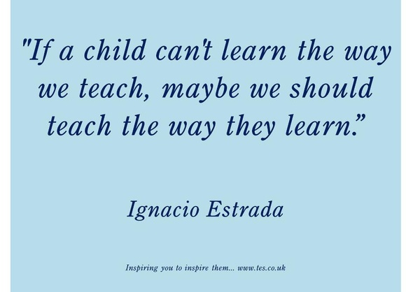 A child can&#039;t learn the way we teach...