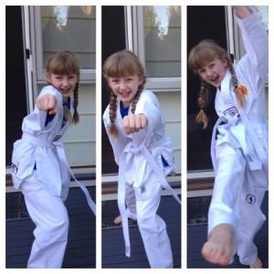 Taekwondo grading Poss superstar