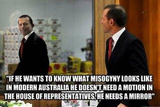 Julia Gillard, Tony Abbott, equality, sexism