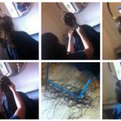 Poss' Hair cut
