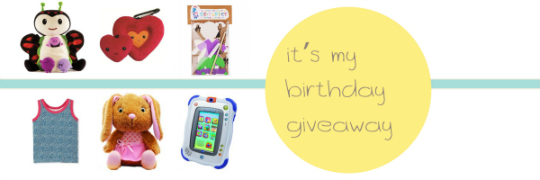 It's my birthday giveaway