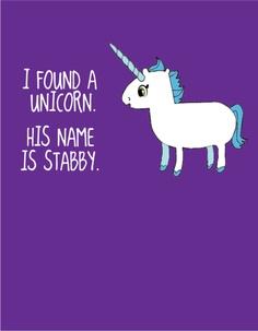 unicorn stabby