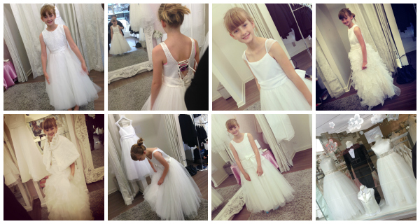 Communion Dress shopping