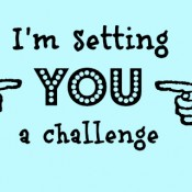 I'm setting you a challenge...