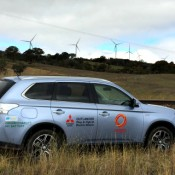 Road testing the PHEV Outlander 1