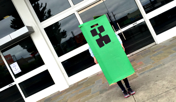 Creeper's day out 1