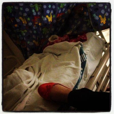 Poss in hospital